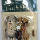 NEW DOGS Door Bell DOORBELL Sheepdog Yorkie Yellow Lab