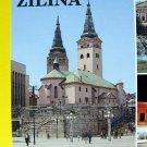 SLOVAK Town ZILINA Vintage POSTCARD Slovakia Communist