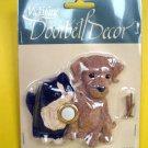 NEW Kitty CAT Brown Puppy DOG Door Bell DOORBELL Cover