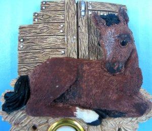 NEW Horse EQUESTRIAN Lighted Door Bell DOORBELL Cover