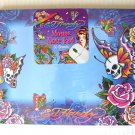 ED HARDY Computer MOUSE Note PAD Killer Design 50 Sheet