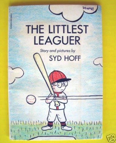 THE LITTLEST LEAGUER Baseball Vintage BOOK Syd Hoff Beginning Reader Scholastic