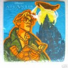 Disney ATLANTIS Cocktail Paper NAPKINS Servietten Collectible Movie Memorabilia