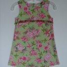 Girls Psketti Fashion Summer Sheath Dress 5 Tropical Floral Sleeveless Portraits