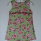 Girls Psketti Easter Summer Sheath Dress 5 Tropical Floral Sleeveless Portraits