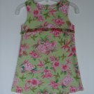 Girls Psketti Beach Summer Sheath Dress 5 Tropical Floral Sleeveless Portraits