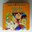 Alice In Wonderland Foreign Language Book HC Boardbook Puzzles Illustrated ✔