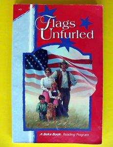 Abeka FLAGS UNFURLED A Beka Homeschool BOOK grade 4 Reading Phonics Christian �