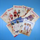 Lot of 9 Hanna Andersson Catalogs 2007 Childrens Fashion Summer Winter Holidays