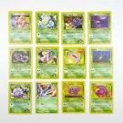Lot Pokemon Trading Cards Nintendo First Edition Base 1999 Weedle Koffing Oddish
