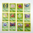 Lot Pokemon Trading Cards Nintendo First Edition Base 1999 Bulbasaur Ivysaur