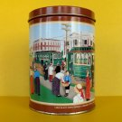 HERSHEY'S Hometown #8 CANISTER Tin Trolley Chocolate Town Miniatures Series Old