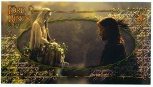 Czech Fellowship Postcard - Aragorn in Rivendell