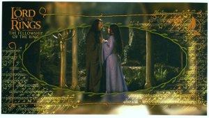 Czech Fellowship Postcard - Arwen & Elrond