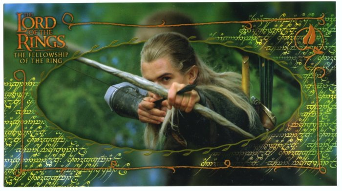 Czech Fellowship Postcard - Legolas