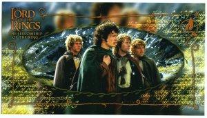 Czech Fellowship Postcard - Hobbits