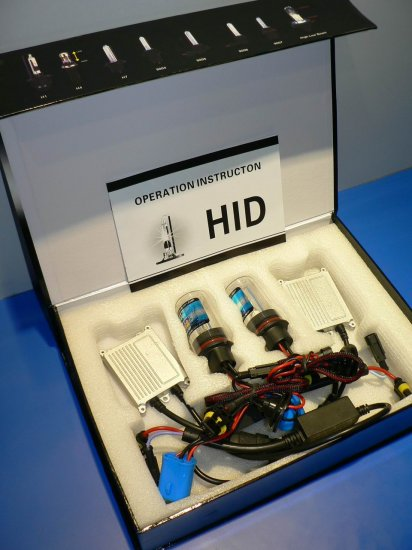 HID xenon lamp and super thin ballast kit made by Germeny electronic components