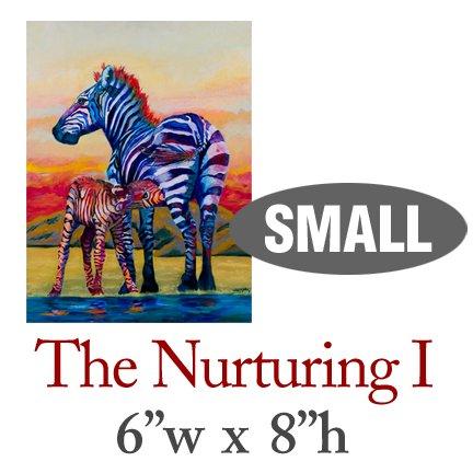 The Nurturing I � Zebras - SMALL