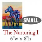 The Nurturing I – Zebras - SMALL