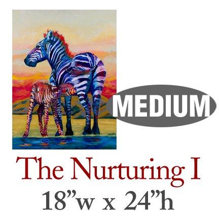The Nurturing I � Zebras - MEDIUM