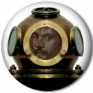 Gentleman Diver 5, Steampunk 1 Inch Pinback Button Badge - 6057