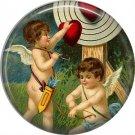 Vintage Valentine's Day Graphics 1 Inch Pinback Button Badge - 2103