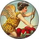 Vintage Valentine's Day Graphics 1 Inch Pinback Button Badge - 2109