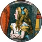 Alice on Trial, Classic Alice in Wonderland 1 Inch Button Badge Pin - 0062