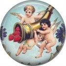 Vintage Valentine's Day Graphics 1 Inch Pinback Button Badge - 2110