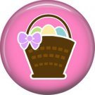 Bunny Love, Easter 1 Inch Button Badge Pin Pinback Button - 2038