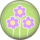 Bunny Love, Easter 1 Inch Button Badge Pin Pinback Button - 2044