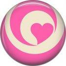 Wild Love Valentine's Day 1 Inch Pinback Button Badge Pin - 2116
