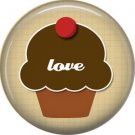 Wild Love Valentine's Day 1 Inch Pinback Button Badge Pin - 2121