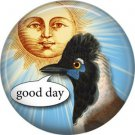 Talking Birds 1 Inch Pinback Button Badge Pin - 4029