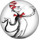 The Cat in the Hat Troublemaker 2, Dr. Seuss 1 Inch Pinback Button Badge - 6040