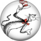 Cat in the Hat Introduction, Dr. Seuss 1 Inch Pinback Button Badge - 6035