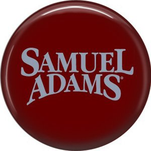 Samuel Adams Beer, 1 Inch Food and Drink Pinback Button Badge - 0407