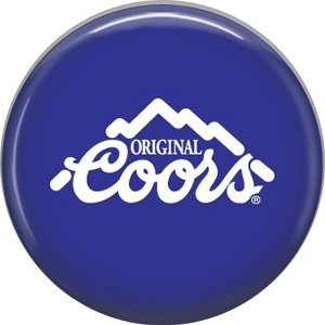 Original Coors Beer, 1 Inch Food and Drink Pinback Button Badge - 0397