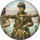 Vintage Hawaii Image on 1 Inch Pinback Button Badge Pin - -0926