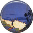Vintage Hawaii Image on 1 Inch Pinback Button Badge Pin - -0938