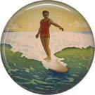 Vintage Hawaii Image on 1 Inch Pinback Button Badge Pin - -0943
