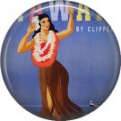 Vintage Hawaii Image on 1 Inch Pinback Button Badge Pin - -0948