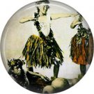 Vintage Hawaii Image on 1 Inch Pinback Button Badge Pin - -0955
