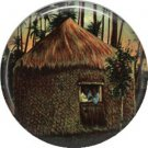 Vintage Hawaii Image on 1 Inch Pinback Button Badge Pin - -0959