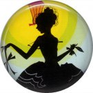 Art Deco Girls, 1 Inch / 25.4 mm Button Badge Pin Back - AD20