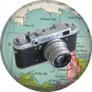 M3D-2 Camera, 1 Inch Button Badge Pin of Vintage Image - 0218