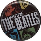 The Beatles on a 1 Inch Pinback Button Badge Pin - 0287