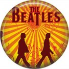 The Beatles on a 1 Inch Pinback Button Badge Pin - 6071
