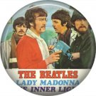 The Beatles on a 1 Inch Pinback Button Badge Pin - 6076