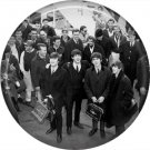 The Beatles on a 1 Inch Pinback Button Badge Pin - 6082